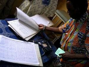 médico, cheque, paciente, salud, registros, comunidad, salud, clínica
