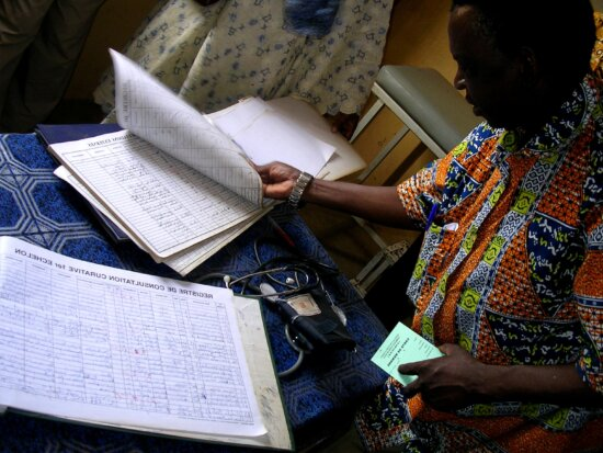 doctor, check, patient, health, records, community, health, clinic