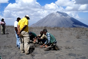 scientists, assess, Ashfall, recent, eruption, Doinyo, Lengai, volcano, Tanzania