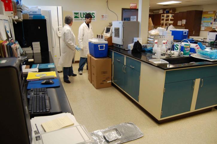 科学家, 实验室, 条件