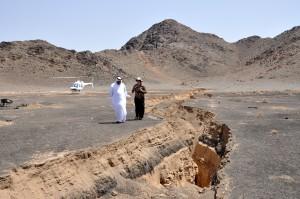 vulkan, katastrofa, pomoć, program, seizmolog, konzultira se, Saudi, geoloških, ankete, direktor