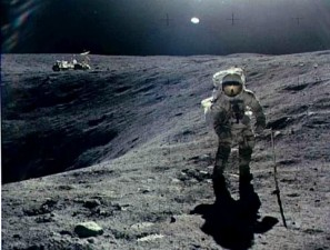first man, Moon, walking, Moon