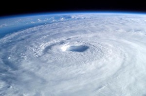 hurricane, space, satellite