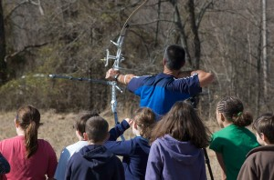 archery, contest, demonstration
