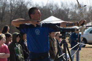 archery, sport, demonstration