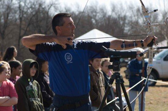 archery, sport, demonstration