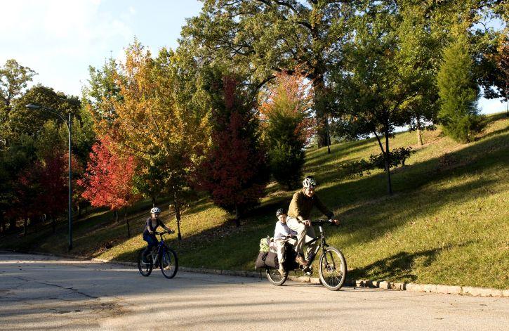 骑自行车, 穿, 气动, 安全, 头盔