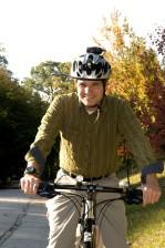 man, bicycling, bike, friendly, roadway