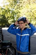 Mann, Radfahrers