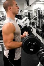 homme, gymnase, diverses, la force, la formation, l'endurance, l'amélioration des exercices