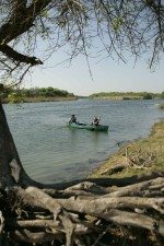 Kanufahren, Fluss