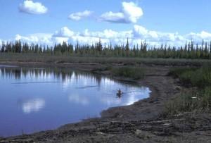 kayaking, black, river