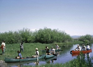 people, canoeing, wild, nature