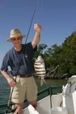 Честит, рибар, риба