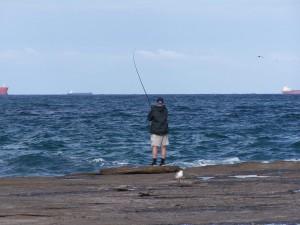 beach, fishing, dudley, beach