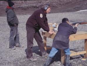 éduquer, chasseurs, arme à feu, la pratique