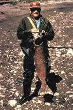 pêcheur, roi, saumon
