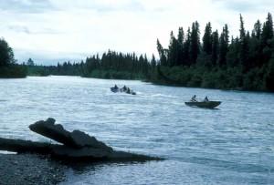 Rybolov lodičky