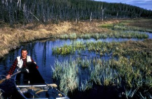 hunting, canoing