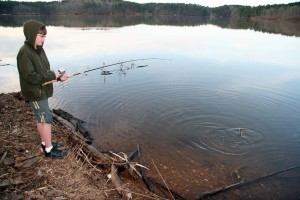 enfants, sport, pêche