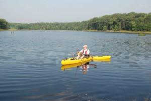 sport, fishing, canoe, quiet, river