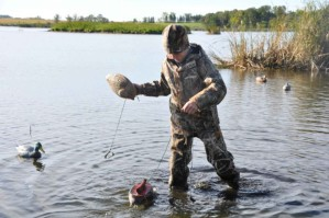 young boy, hunter, duck, hunting, gear