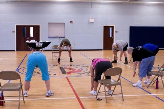 Các lớp học aerobic,