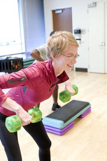 aérobie, exercice, salle de gym, stretching, cours, pilates