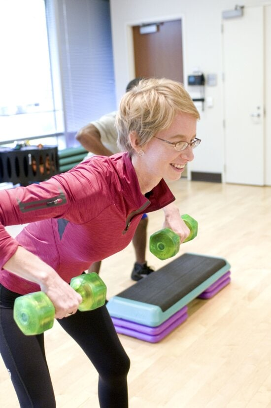tập thể dục Aerobic, gym, kéo dài, các lớp học, pilates