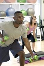 African American, boy, pilates