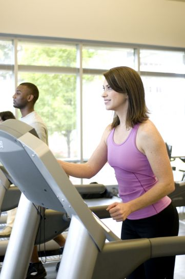 boy, girl, aerobic, exercise