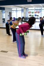 femenino, aeróbicos, clases