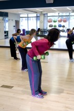 female, aerobic, class