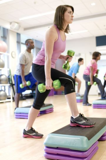 female, exercise, class