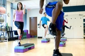 grappig, oefening, sportschool