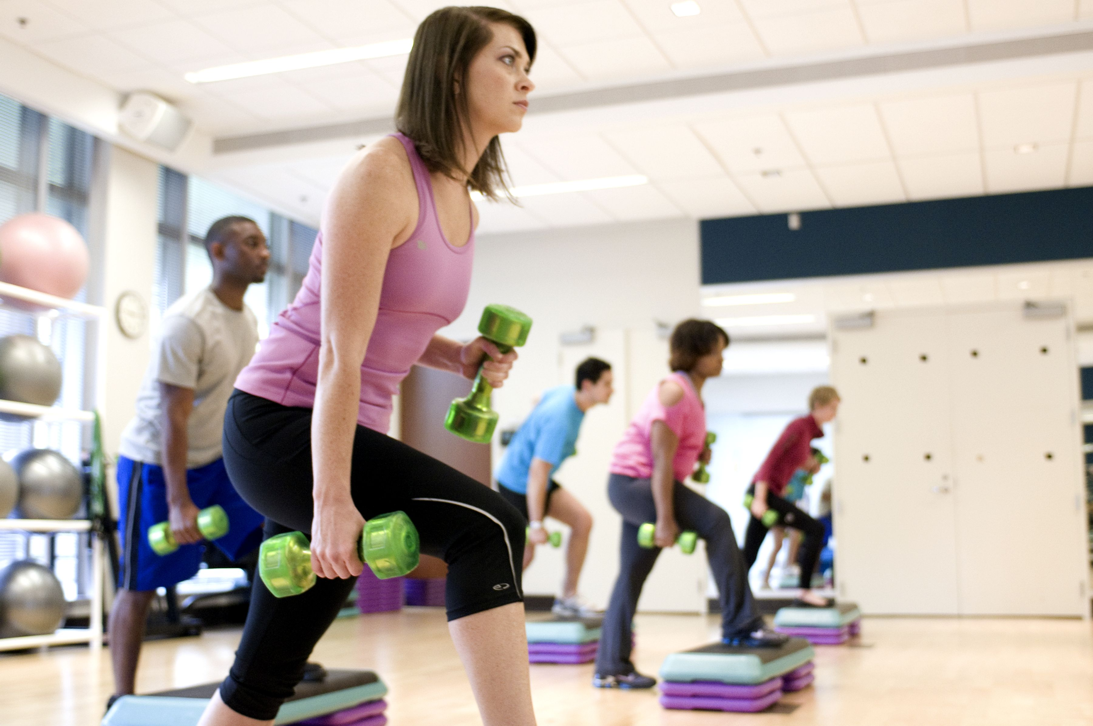 exercise and aerobic fitness The early stage of any exercise is anaerobic sprinting, weight lifting, push-ups, or jumping, in fact any short burst of exertion and high-intensity movement, is considered an anaerobic exercise.