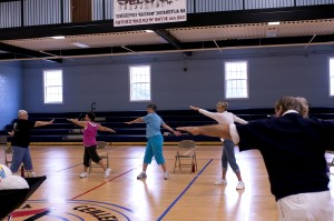 stretching, aérobic, sport