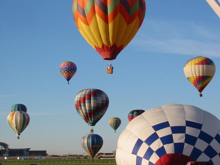 balloon, hot, air