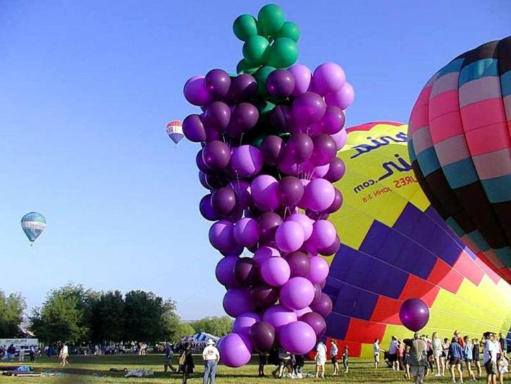 ballons, festival