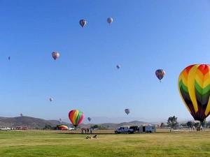 balloons, sport, blue sky