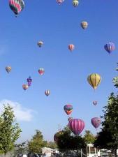 globos, cielo