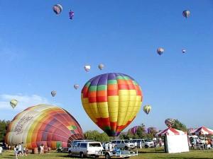 balloons, ground