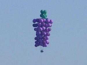 balloons, hot air, blue sky