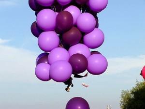 blue, balloons, hot, air, cluster, john, ninomiya