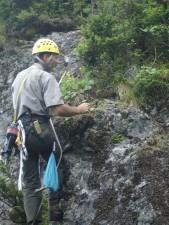 scalatore, rock, arrampicata, attrezzature, montagna