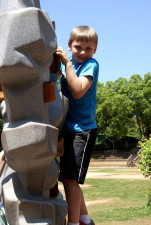 cute, boy, rock, climbing