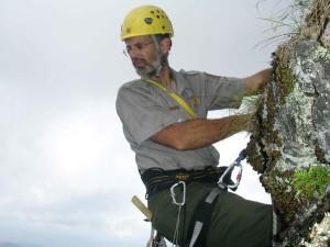 hiker, alpinist, alpinism, echipamente, agăţat, roci