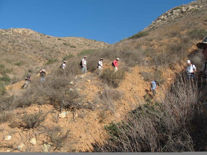 people, hiking