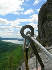 sârmă, munte, alpinism