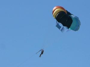 parachuter, sport